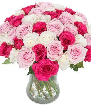 een mix van rozen bestellen